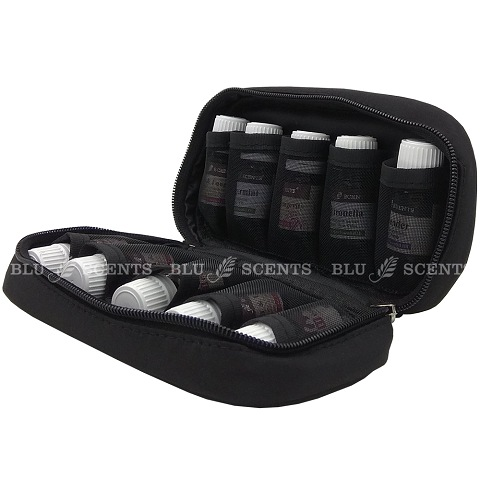Pure Essential Oil Storage Pouch Stylish Black