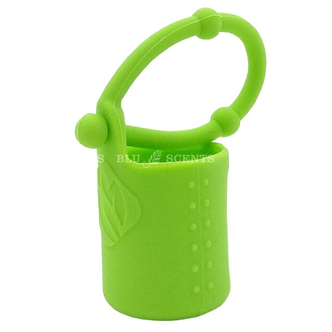 Pure Essential Oil Silicone Holder 5ml - Green