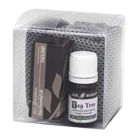 Tea Tree Natural Fever Rescue Kit Grey